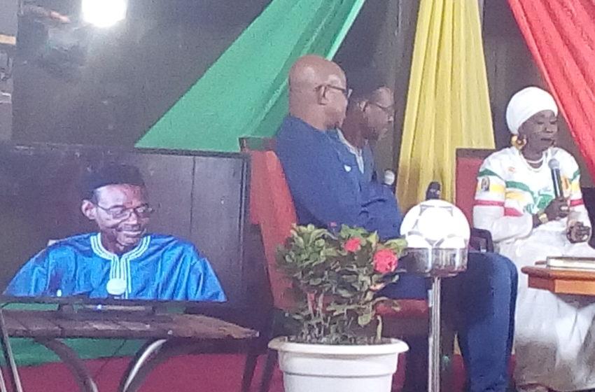 Enregistrement public de l'émission « Mémoire » de l'ORTM,                     Hommage a été rendu aux anciens talents du football malien