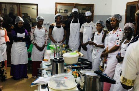 Centre de formation en cuisine-patisseries « Belle France Tshiwara » : l'utile et l'agréable
