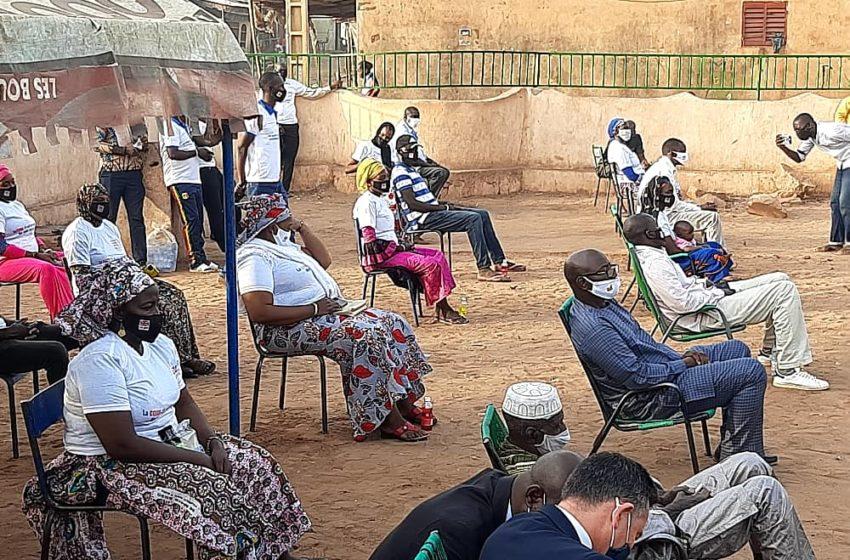 IFE MALI sensibilise les communautés vulnérables sur la COVID-19
