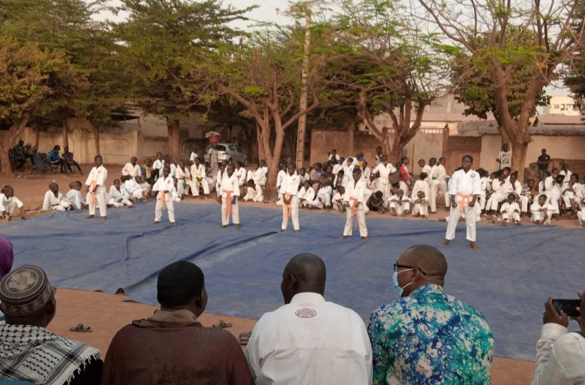 Mariétou Karaté club de Sotuba : « Nous ajoutons l'éducation de la salle dojo à celle de la famille et de l'école » dixit Maitre Mamadou Fané, ceinture noire premier dan